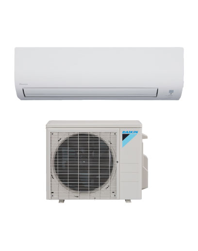 Daikin mini split heat pumps are efficient whole-home solutions to heating and cooling.